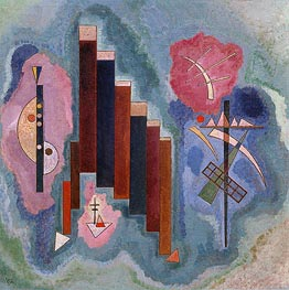 Towards the Bottom | Kandinsky | Painting Reproduction