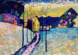 Winter Landscape, 1909 by Kandinsky | Painting Reproduction