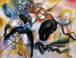 Black Spots | Kandinsky | Painting Reproduction