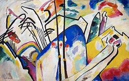Composition No. 4, 1911 by Kandinsky | Painting Reproduction