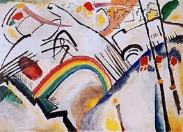 Cossacks, 1910 by Kandinsky | Painting Reproduction