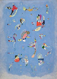 Sky Blue | Kandinsky | Painting Reproduction