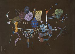 Around the Line | Kandinsky | Painting Reproduction