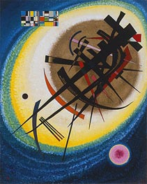In the Bright Oval | Kandinsky | Painting Reproduction