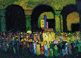 The Ludwigskirche in Munich | Kandinsky | Painting Reproduction
