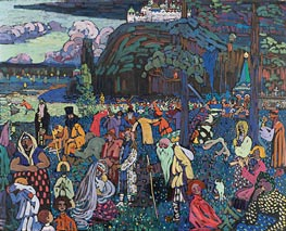 A Motley Life | Kandinsky | Painting Reproduction