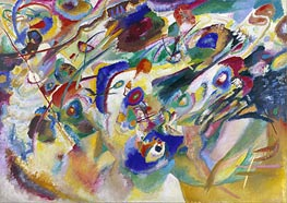 Sketch 2 for Composition VII | Kandinsky | Painting Reproduction