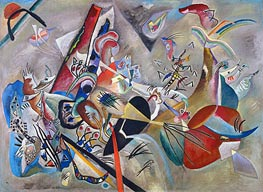 In Gray, 1919 by Kandinsky | Painting Reproduction