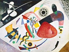 Red Spot II, 1921 by Kandinsky | Painting Reproduction