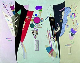 Reciprocal Accords, 1942 by Kandinsky | Painting Reproduction