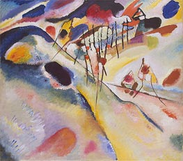 Landscape, 1913 by Kandinsky | Painting Reproduction