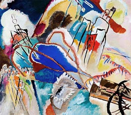 Improvisation No. 30 (Cannons), 1913 by Kandinsky | Painting Reproduction