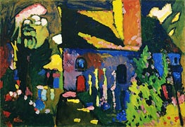 Church at Murnau, 1909 by Kandinsky | Painting Reproduction