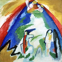 Mountain | Kandinsky | Gemälde Reproduktion