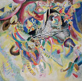 Fuga, 1914 by Kandinsky | Painting Reproduction