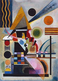 Swinging, 1925 by Kandinsky | Painting Reproduction