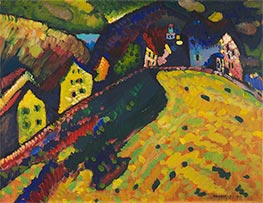 Houses at Murnau | Kandinsky | Painting Reproduction