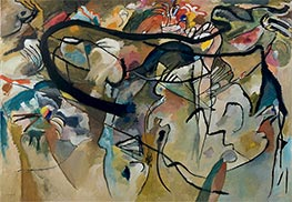 Composition V, 1911 by Kandinsky | Painting Reproduction