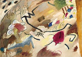 Improvisation with Horses, 1911 by Kandinsky | Painting Reproduction