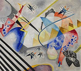 White Center, 1921 by Kandinsky | Painting Reproduction