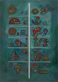 Levels, 1929 by Kandinsky | Painting Reproduction
