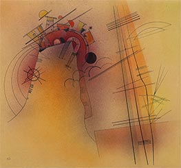 Aglow, 1928 by Kandinsky | Painting Reproduction