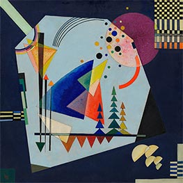 Three Sounds, 1926 by Kandinsky | Painting Reproduction