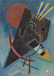 Pointed and Round, 1925 by Kandinsky | Painting Reproduction