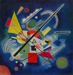 Blue Painting, 1924 by Kandinsky | Painting Reproduction