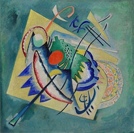 Red Oval, 1920 by Kandinsky | Painting Reproduction