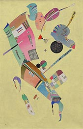 Moderation, 1940 by Kandinsky | Painting Reproduction