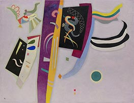 Violet-Orange, 1935 by Kandinsky | Painting Reproduction