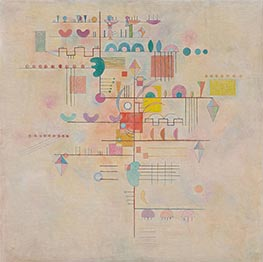 Graceful Ascent, 1934 by Kandinsky | Painting Reproduction
