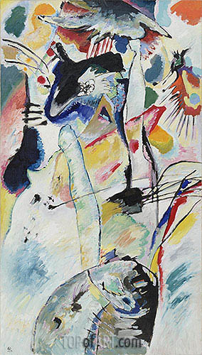 Panel for Edwin R. Campbell No. 3, 1914 | Kandinsky | Painting Reproduction