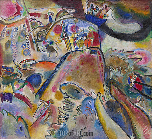 Small Pleasures, 1913 | Kandinsky | Painting Reproduction