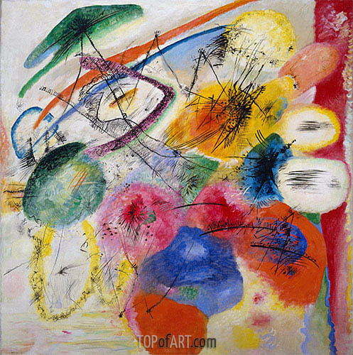 Black Lines, 1913 | Kandinsky | Painting Reproduction
