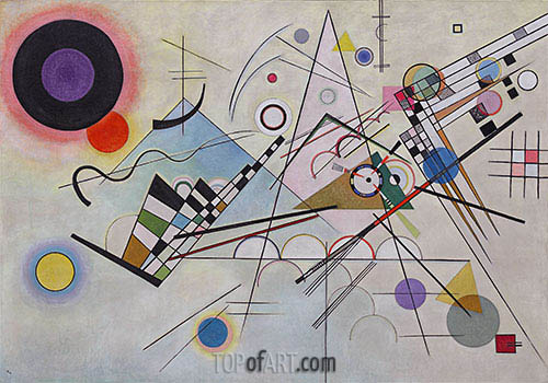 Composition 8, 1923 | Kandinsky | Painting Reproduction