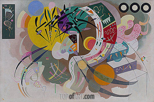 Dominant Curve, 1936 | Kandinsky | Painting Reproduction