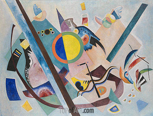Multicolored Circle, 1921 | Kandinsky | Painting Reproduction