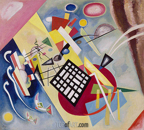 Black Weft, 1922 | Kandinsky | Painting Reproduction