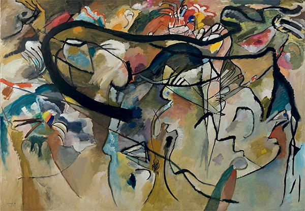 Composition V, 1911   Kandinsky   Painting Reproduction
