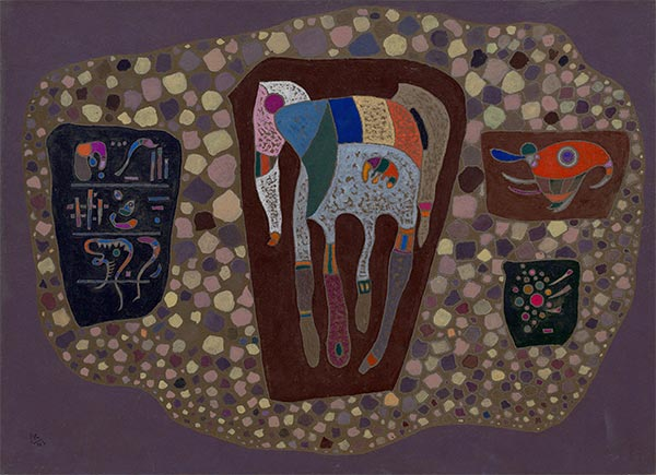 Fragments, 1943   Kandinsky   Painting Reproduction