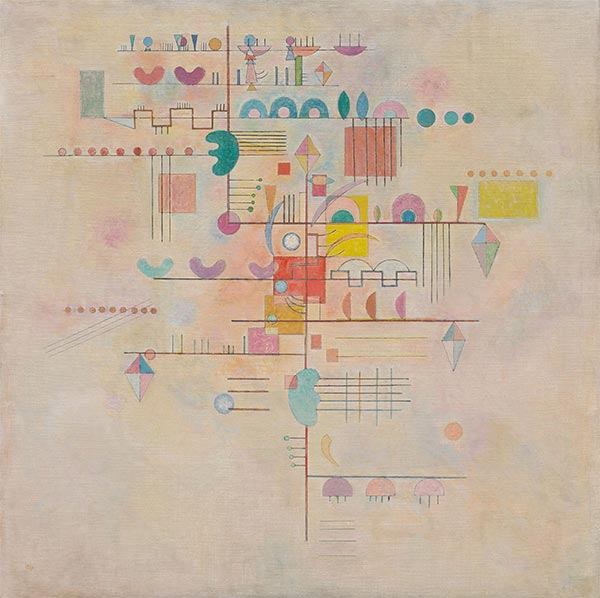 Graceful Ascent, 1934 | Kandinsky | Painting Reproduction