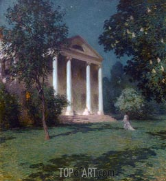 May Night, 1906 by Willard Metcalf | Painting Reproduction