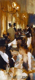 In the Coffee | Willard Metcalf | Painting Reproduction
