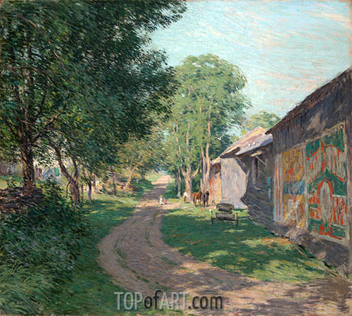 Midsummer Shadows, 1911 | Willard Metcalf | Painting Reproduction