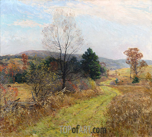 Late Autumn, c.1924 | Willard Metcalf | Painting Reproduction