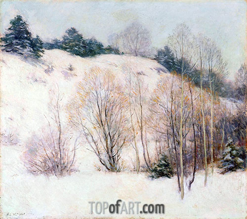 Willows in March, 1911 | Willard Metcalf | Painting Reproduction