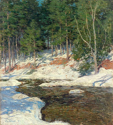 Icebound, 1909 | Willard Metcalf | Painting Reproduction