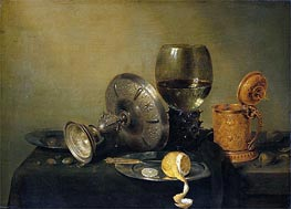 Still Life | Claesz Heda | Painting Reproduction